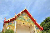 Beautiful entry in buddhist temple in Phuket island in Thailand — Стоковое фото
