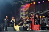 Radio Nostalgie La Legende concert on National Day of Belgium — Stock Photo