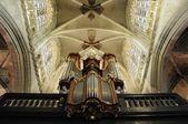 Catholic church interior in Belgium, Brussels — Stock Photo