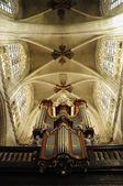 Catholic church interior in Brussels, Belgium — Stock Photo