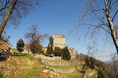 Landscape around Sacra of Saint Michael, Italy — Stock Photo