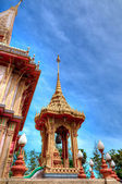 Buddhist temple Wat Chalong in Phuket, Thailand — Foto Stock