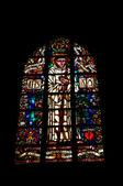 在布鲁塞尔修道院 de la cambre 中的窗口 — 图库照片