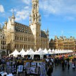 BRUSSELS, BELGIUM-SEPTEMBER 1: Grand Place hosts famous annual Belgian Beer Weekend dedicated to Belgian beers, started on September 1, 2012 in Brussels. - Stock Photo