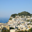 Stock Photo: Small harbor and villages of Capri island in Campaniprovince, Italy