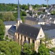 Abbey de Neumunster in Luxembourg City in a calm day — Stock Photo