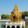 Beautiful Buddhist temple on water in Thailand — Stock Photo #12863482