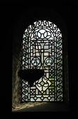 Detalhes do interior da catedral de aachen, alemanha — Foto Stock