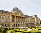 View from Place des Palais of Royal Palace in historical center of Brussels, Belgium — Stock Photo
