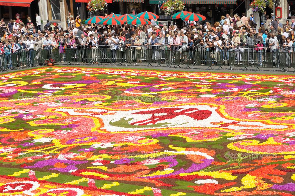 Brüssel  august 16 flower Carpet  2008 in Brüssel Grand