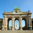 Постер, плакат: Triumph Arch in Cinquantennaire Parc in Brussels