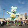 Balloons Day Parade arrived to Place de l'Albertine — Foto Stock