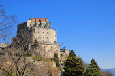 Sacra di San Michele in Piedmont, Italy — Stock Photo