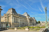 Royal Palace in center of Brussels — Stock Photo