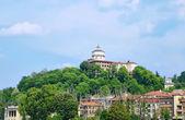 Monasterio e iglesia de capuchinos famoso monte — Foto de Stock