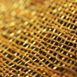 Stock Photo: Macro image of decorative asifabric
