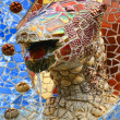 Royalty-Free Stock Photo: Dragon fountain in Park Guell