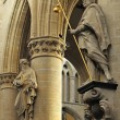 Stock Photo: St. Michael and St. Gudulcathedral in Brusselxs