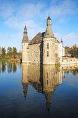 Chateau jehay il liege içinde dış görünümü — Stok fotoğraf
