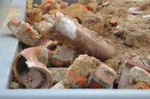 从建筑工程的垃圾 — 图库照片