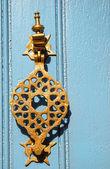 Maniglia metallo stile orientale — Foto Stock