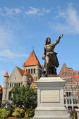 Memorial of Princess of Epinoy Christine de Lalaing — Stock Photo