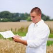 Agriculture specialist — Stock Photo