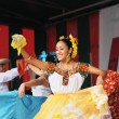 Dancer of Xochicalli Mexican folkloric ballet — Stock Photo