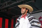 Xochicalli meksika folklorik bale — Stok fotoğraf
