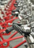 Bicicletas aparcadas — Foto de Stock