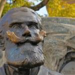 ������, ������: Memorial of Charles Karel Buls mayor in 1881 1899 on Agora Square