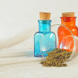 Traditional pharmacy vintage bottles — Stockfoto