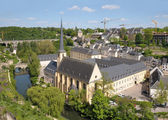 Abbey de Neumunster in Luxembourg — Stock fotografie