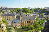 Abadia de neumunster, na cidade do luxemburgo — Foto Stock