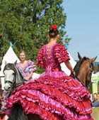 Carrousel exercise during EuroFeria Andaluza — ストック写真