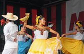 Xochicalli Mexican folkloric ballet — Stock Photo