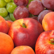 Fresh fruits closeup image — Stock Photo