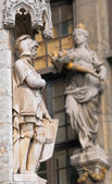 Gothic statue — Stock Photo