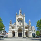 Church Saint Katherine in Brussels — Stock Photo