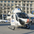 Helicopter of Belgian Police — Stock Photo