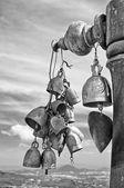 Buddhist bells — Stock Photo