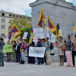 Stock Photo: Activists of TibetCommunity
