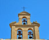 Bells of catholic church — Stock Photo