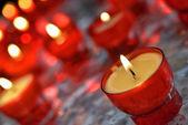 Afvuren kaarsen — Stockfoto