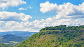 Mountain landscape in Auvergne region of France — Stock Photo