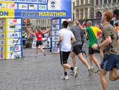 ブリュッセル マラソン — ストック写真