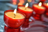 Firing candle — Stock Photo