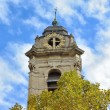Old tower of church Saint Catherine in Brussels — Foto Stock