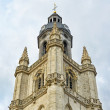 Tower of Saint Martinus Basilica in Halle, Belgium — Stock Photo