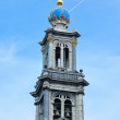Church Westerkerk in Amsterdam — Stockfoto